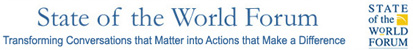 Logo: The State of the World Forum
